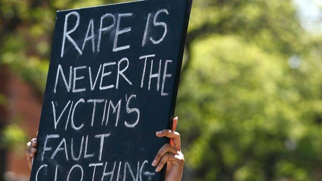Six people were arrested on Sunday for allegedly gang raping and brutally assaulting a 40-year-old widow in coastal Odisha's Kendrapara district on the suspicion that she was having an illicit affair with their kin.(AFP/REPRESENTATIVE IMAGE)