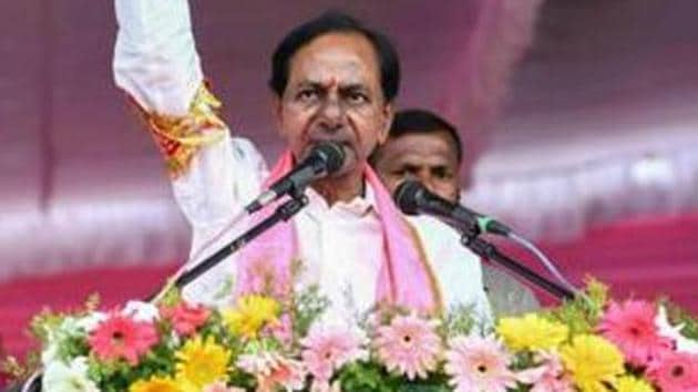 Rumblings of discontent have begun to surface within the Telangana Congress against continuation of the grand alliance with TDP, CPI and Telangana Jana Samithi after K Chandrasekhar Rao's TRS swept the assembly elections.(PTI/File Photo)