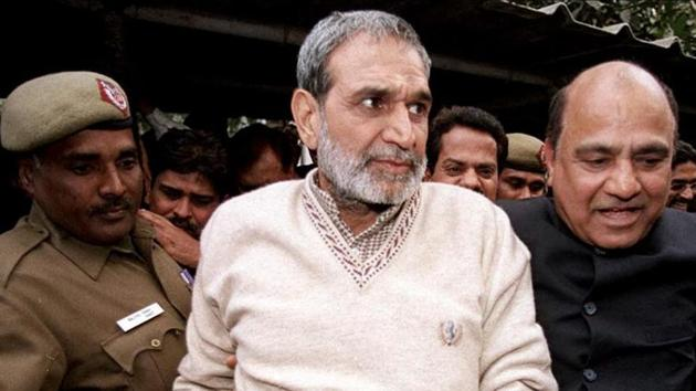 In its order sentencing Congress leader Sajjan Kumar to jail for the remainder of his life in the 1984 anti-Sikh riots case, the Delhi High Court on Monday made a stinging observation regarding mass crimes and political patronage.(PTI)