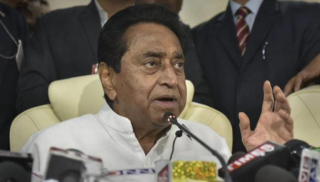 On Monday, Kamal Nath through an order waived outstanding short-term crop loans of farmers up to Rs 2 lakh per head.(PTI)
