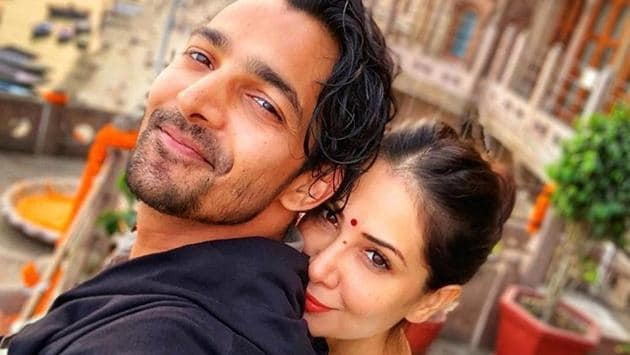 Kim Sharma posted this picture with Harshvardhan on his birthday recently.