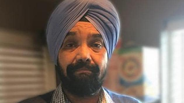 Swarn Singh was assaulted by Rory Benson in Seattle in December 2017.(Sourced)