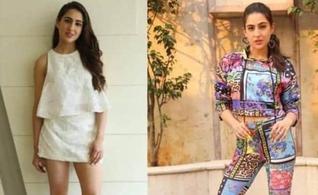 Sara Ali Khan has caught the weird fashion bug from Ranveer Singh.(Instagram)
