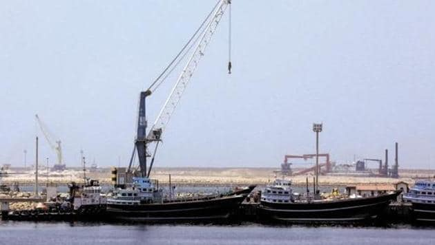Chabahar port is being seen as a gateway for trade by India, Iran and Afghanistan with Central Asian countries.(AFP File Photo)