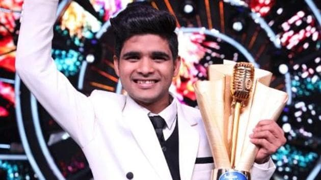 Salman Ali won the Indian Idol 10 in the finals that was aired on Sunday.(Twitter)