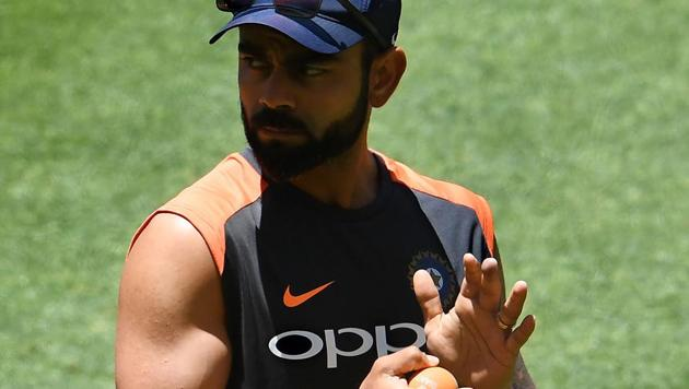 File image of India skipper Virat Kohli.(AFP)