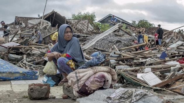 The tsunami that hit the coasts of Indonesian islands along the Sunda Strait was not big but it was destructive. The waves smashed onto beaches in the darkness Saturday night without warning, ripping houses and hotels from their foundations in seconds and sweeping terrified concertgoers into the sea.(AP)