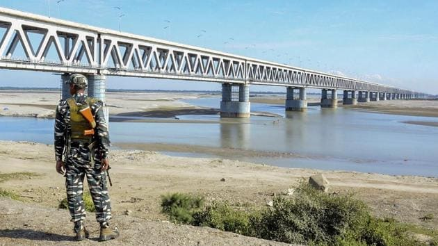Prime Minister Narendra Modi will inaugurate on December 25 the Bogibeel Bridge, India's longest rail-road bridge, connecting the north and south banks of the Brahmaputra, falling in the eastern part of Assam and Arunachal Pradesh.(PTI)
