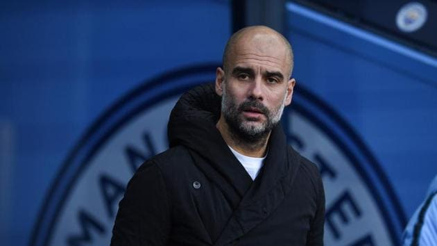 File image of Manchester City's Spanish manager Pep Guardiola.(AFP)