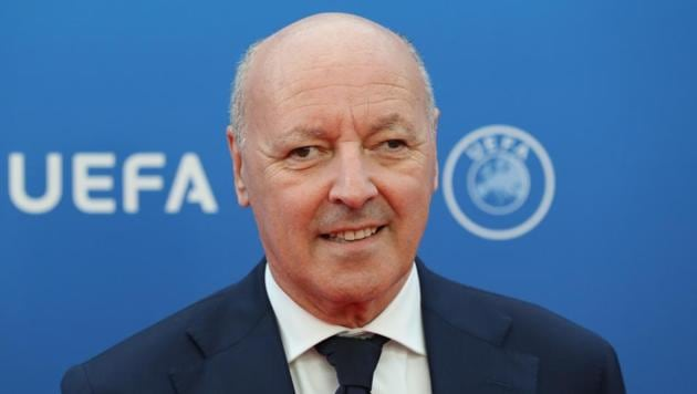 File image of Inter Milan CEO Giuseppe Marotta.(AFP)