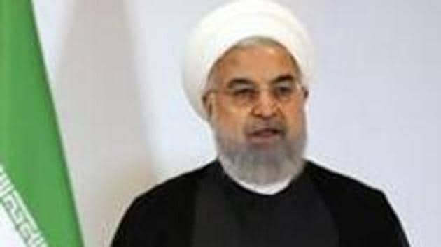 Iran president Hassan Rouhani presented an annual state budget of 4,700 trillion rials to parliament on Tuesday,(Bloomberg)