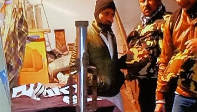 During raids at multiple places in Uttar Pradesh and Delhi, the National Investigation Agency (NIA) on Wednesday recovered huge quantities of explosives and material to make bombs.(Sanjeev Verma/ HT Photo)