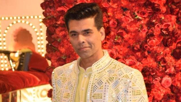 Karan Johar at a recent event.(IANS)