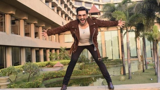 Ranveer Singh during the promotions of his upcoming film Simmba in Mumbai. (Photo: IANS)(IANS)