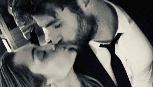 Miley Cyrus and Liam Hemsworth are now married.(Instagram)