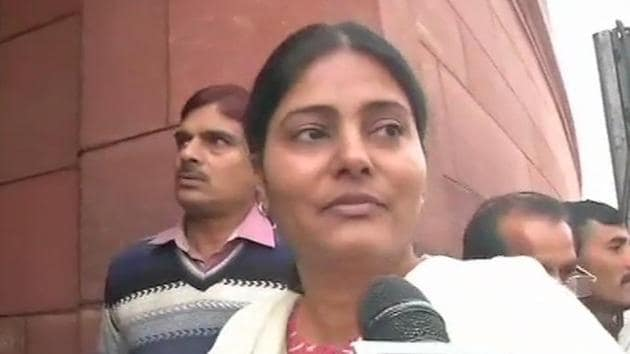 Anupriya had skipped a programme of chief minister Yogi Adityanath in Deoria on Wednesday, a day after Ashish made the comments against the BJP.(ANI Photo)