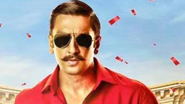Ranveer Singh is back as Simmba.
