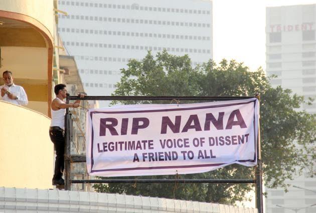 Nana Chudasama (June 17, 1933 – December 23 , 2018)(HT PHOTO)