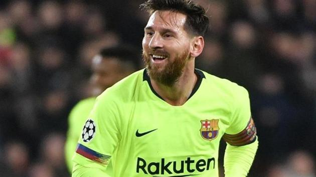 File image of Lionel Messi.(AFP)