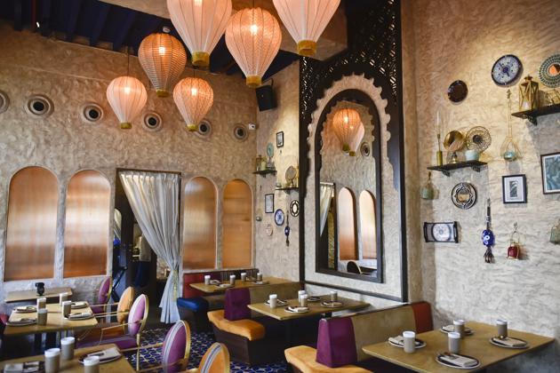 One of my favourite finds of the year has been Bayroute at Cuffe Parade, with its gorgeous decor and its take on the food of Egypt, Turkey, Lebanon and Greece.(HT File Photo)