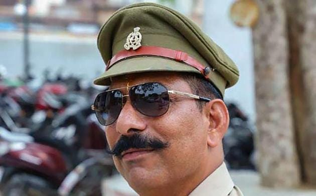An undated photo of Police Inspector Subodh Kumar Singh, who was shot dead during the violence in Bulandshahr after a mob went on a rampage to protest alleged cow slaughter. The UP police said it had Thursday arrested his killer (File Photo)(PTI)