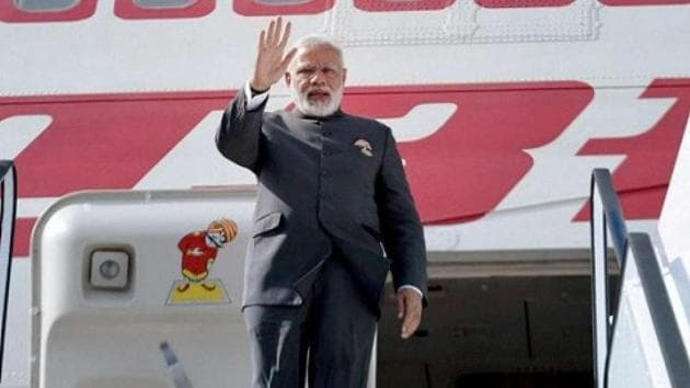 An expenditure of over Rs 2,021 crore was incurred on chartered flights, maintenance of aircraft and hotline facilities during Prime Minister Narendra Modi's visits to foreign countries since June 2014, according to the government.(PTI)