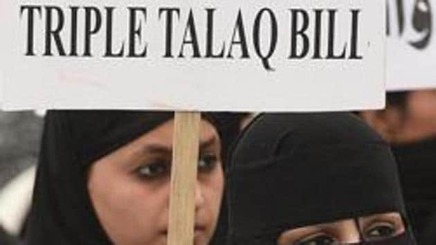 The AIMPLB said that inspite of opposition by several parties in Lok Sabha and by the Muslim community across the country, the bill had been passed(HT File)