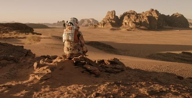 Matt Damon stars in and as The Martian. We haven't yet made it to the red planet, but when we do, we'll be ready to build.