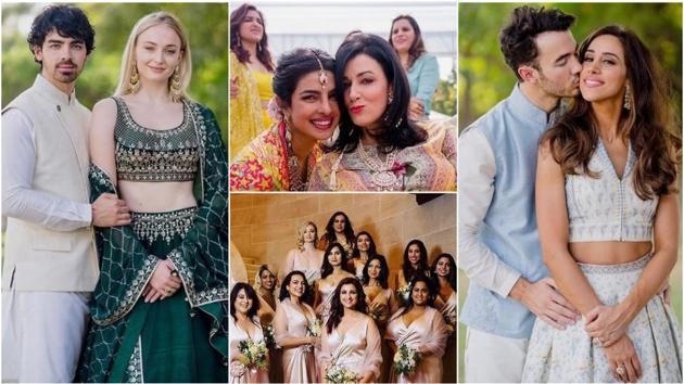 Priyanka Chopra and Nick Jonas' unseen wedding pictures are here.(Instagram)
