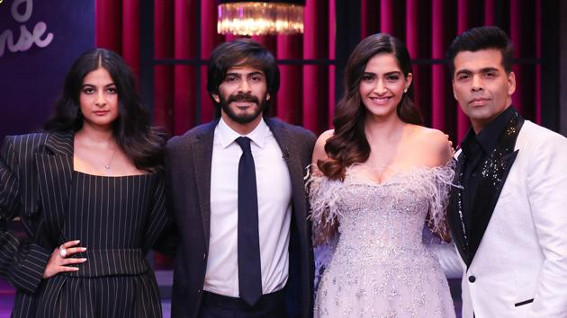 Sonam Kapoor will share the couch with her sister Rhea and brother Harshvardhan on Koffee With Karan.