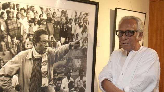 Mrinal Sen was a noted Bengali filmmaker with several movies to his credit.((Photo Samir Jana))