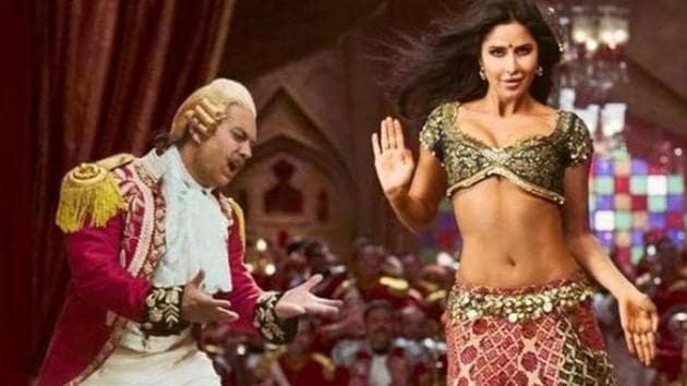 Aamir Khan and Katrina Kaif in a still from Thugs of Hindostan.
