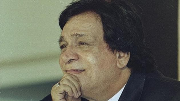 Actor-writer Kader Khan passed away in Canada on Monday.(HT Photo)