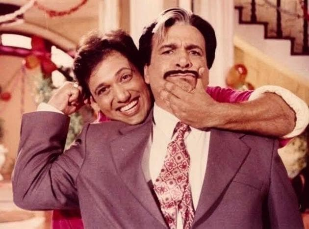 Govinda and Kader Khan made up one of the most adored on-screen pairs of 90's Hindi cinema.