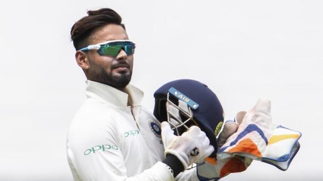 File picture of Rishabh Pant(AP)
