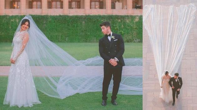 Priyanka Chopra, Nick Jonas wedding: Did you overlook these remarkable hidden details from Priyanka's wedding gown by Ralph Lauren? (Instagram)