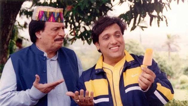 Govinda and Kader Khan have worked together in several movies.