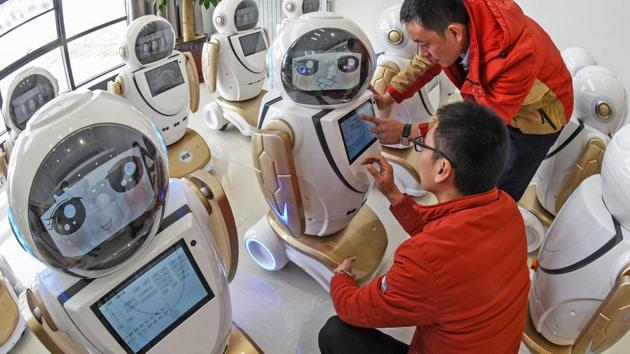 CBSE to introduce artificial intelligence courses in schools. AI would be one of the optional subjects on the vocational side.(File)