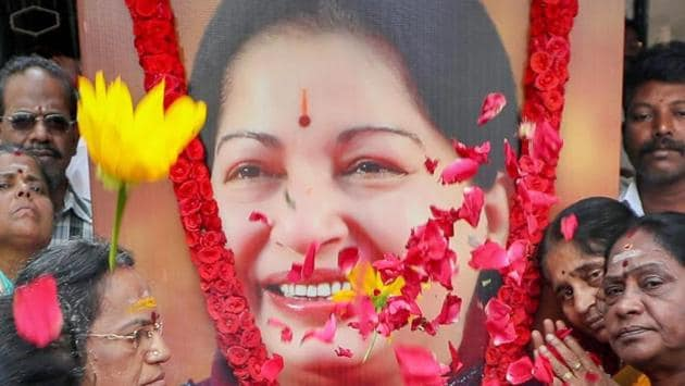 Former Tamil Nadu Chief Minister Jayalalithaa was admitted to Apollo Hospital in Chennai on September 22, 2016 and breathed her last on December 5.(PTI)