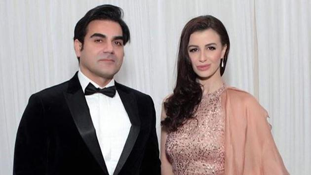 Arbaaz Khan's girlfriend Giorgia Andriani shared this picture on her Instagram account.