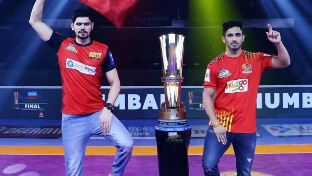Confident Gujarat Fortunegiants take on gritty Bengaluru Bulls in the final(Pro Kabaddi League)
