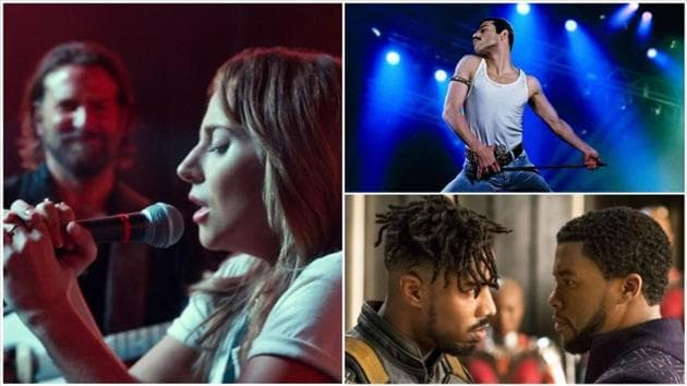 A Star Is Born, Bohemian Rhapsody and Black Panther are among the film's nominated for the awards.
