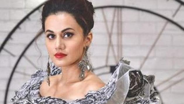 Bollywood actor Taapsee Pannu looks stunning on the cover of a fashion magazine (see cover pic below)(Taapsee/Instagram)