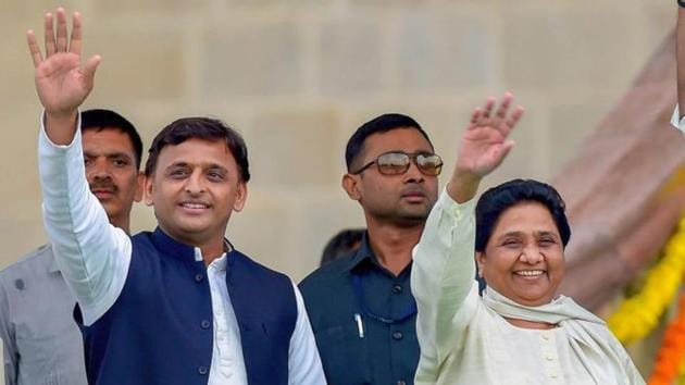 The Samajwadi Party and the Bahujan Samaj Party have agreed to an alliance ahead of the Lok Sabha elections.(PTI)