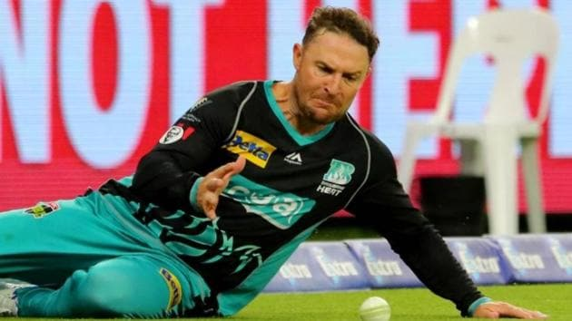 File image of Brendon McCullum in action for Brisbane Heat(Big Bash League/ Twitter)