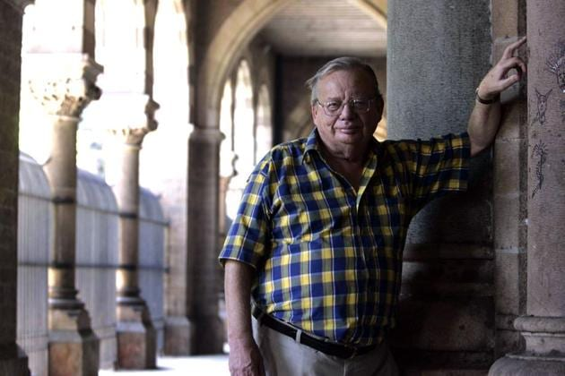 Author Ruskin Bond's ghost stories will come to life with a web series titled Parchayee — Ghost Stories.(Santosh Harhare/HT Photo)