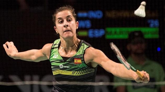 File image of Carolina Marin.(Reuters)