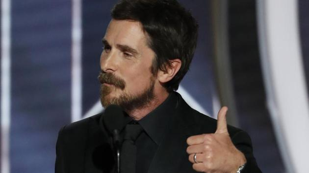 76th Golden Globe Awards: Christian Bale, Best Actor - Motion Picture, Musical or Comedy, Vice, accepts his award.(REUTERS)