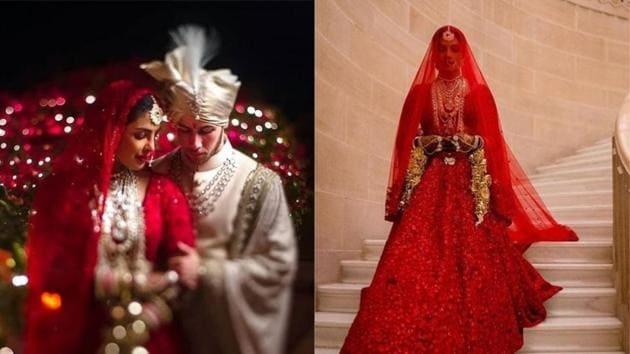 Priyanka Chopra and Nick Jonas' new wedding pictures are breathtaking.(Instagram)