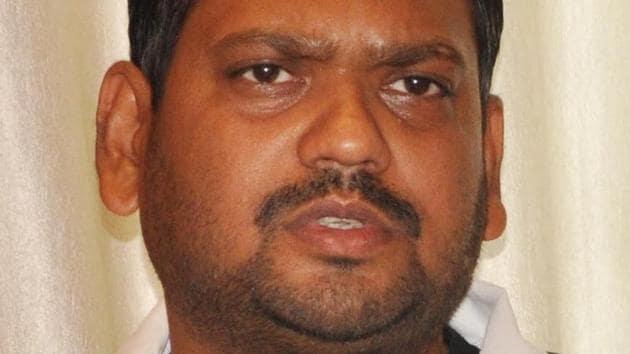 File photo of jailed BJP MLA from Jharia, Sanjeev Singh.(HT File Photo)